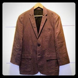 Kenneth Cole linen sports coat 38S